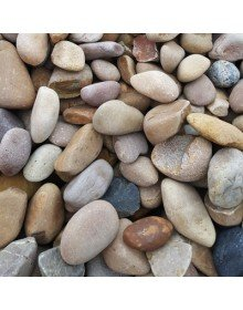 Mixed English Beach cobbles