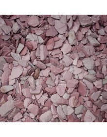 crushed plum slate chippings 20mnm